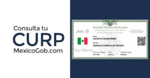 Consulta tu CURP MÉXICO