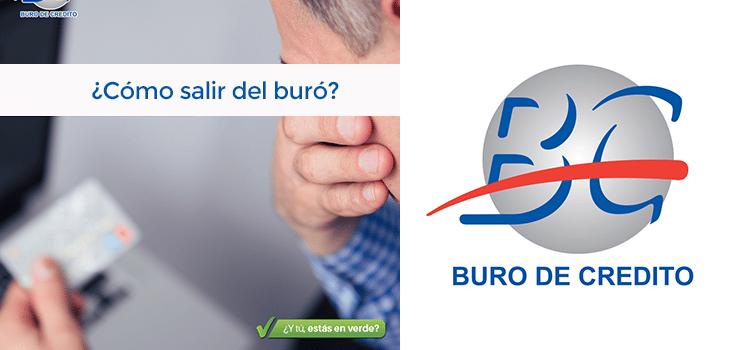 ¿Cómo Salir del Buró sin pagar??