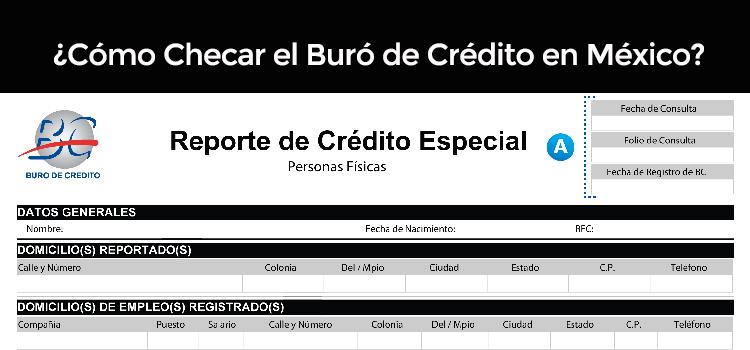 ¿Cómo Checar el Buró de Crédito en México?