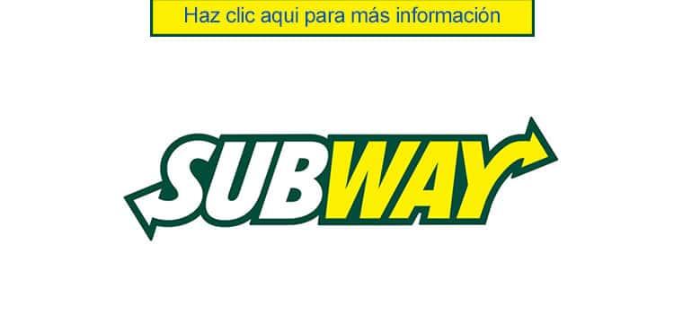Subway empleos