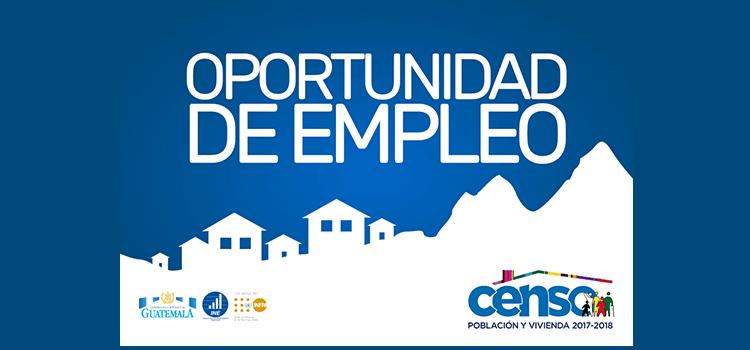 Convocatoria Nacional para CENSO de Guatemala