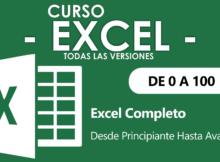 Curso Excel Básico, intermedio y avanzado
