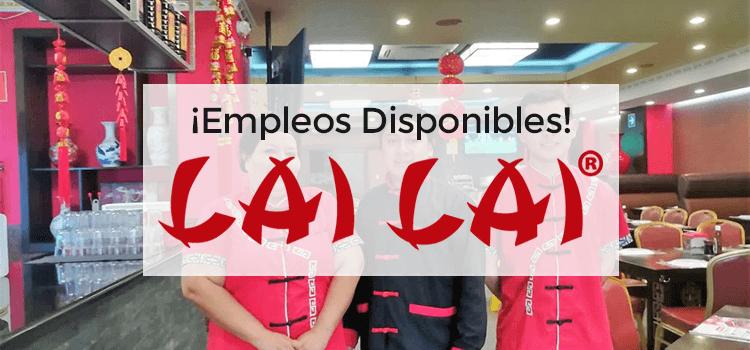 Restaurantes Lai Lai empleos