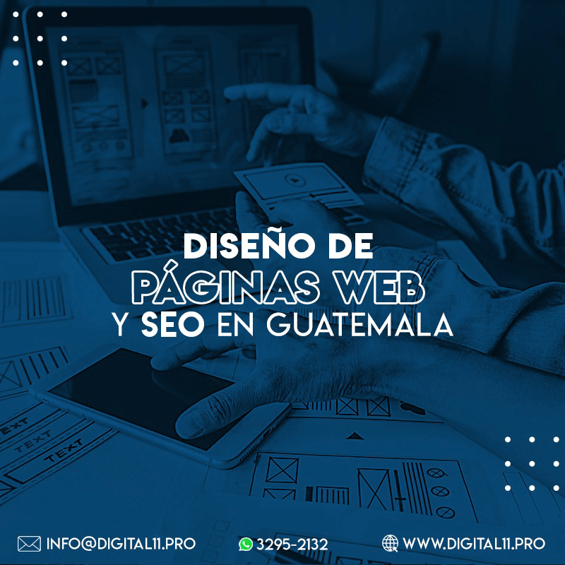 Diseño de páginas web y SEO en Guatemala