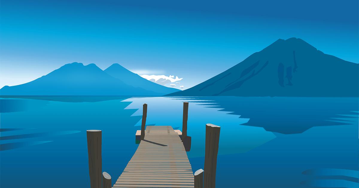 Lago de Atitlán Guatemala