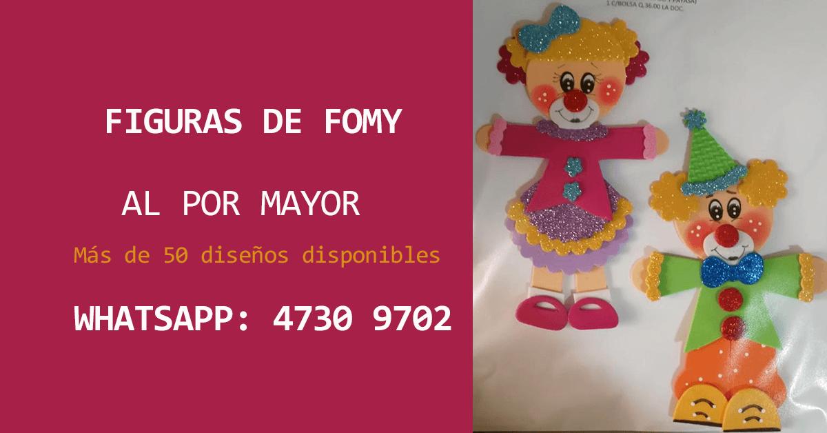 Figuras de Fomy al por mayor en Guatemala