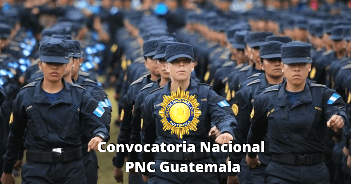 Convocatoria Nacional PNC Guatemala